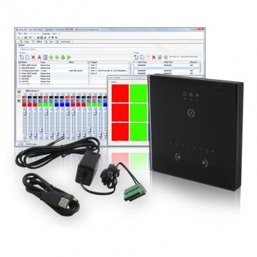 Настенный сенсорный DMX контроллер SUNLITE STICK-GU2